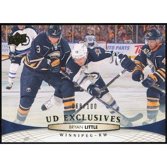 2011/12 Upper Deck Exclusives #256 Bryan Little /100