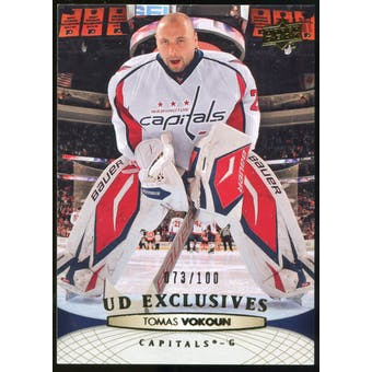 2011/12 Upper Deck Exclusives #259 Tomas Vokoun /100