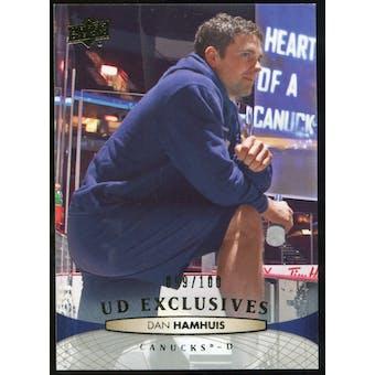 2011/12 Upper Deck Exclusives #270 Dan Hamhuis /100