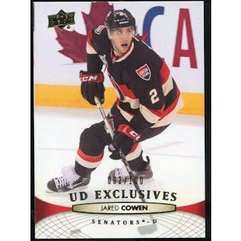 2011/12 Upper Deck Exclusives #325 Jared Cowen /100