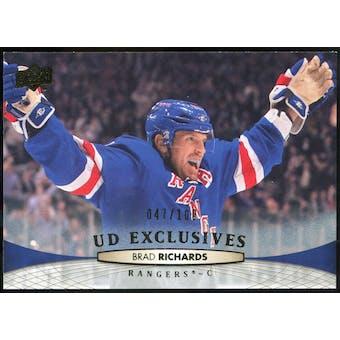 2011/12 Upper Deck Exclusives #328 Brad Richards /100