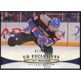 2011/12 Upper Deck Exclusives #336 Matt Moulson /100