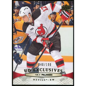 2011/12 Upper Deck Exclusives #345 Nick Palmieri /100