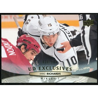2011/12 Upper Deck Exclusives #368 Mike Richards /100