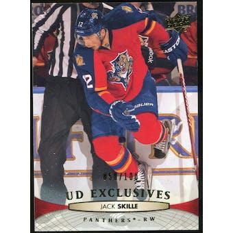 2011/12 Upper Deck Exclusives #378 Jack Skille /100