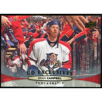 2011/12 Upper Deck Exclusives #379 Brian Campbell /100