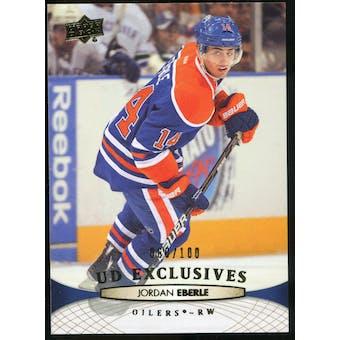 2011/12 Upper Deck Exclusives #381 Jordan Eberle /100