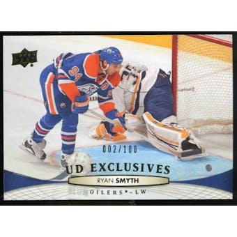 2011/12 Upper Deck Exclusives #383 Ryan Smyth /100