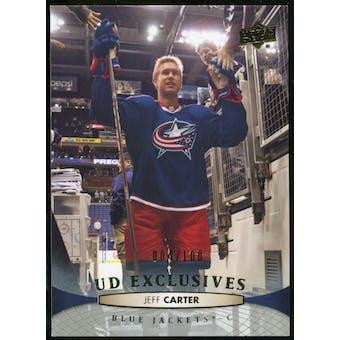 2011/12 Upper Deck Exclusives #400 Jeff Carter /100