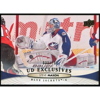 2011/12 Upper Deck Exclusives #401 Steve Mason /100