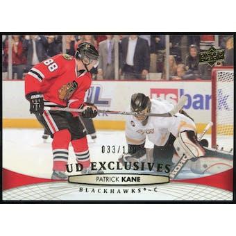 2011/12 Upper Deck Exclusives #411 Patrick Kane 33/100