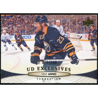 2011/12 Upper Deck Exclusives #430 Ville Leino /100
