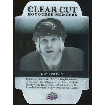2011/12 Upper Deck Clear Cut Honoured Members #HOF29 Denis Potvin /100