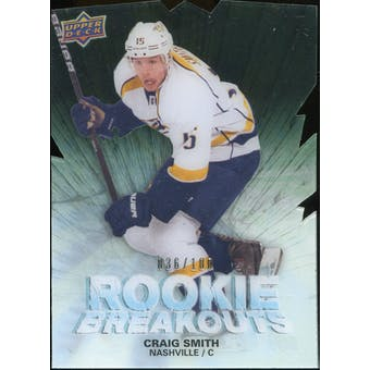 2011/12 Upper Deck Rookie Breakouts #RBCS Craig Smith 36/100