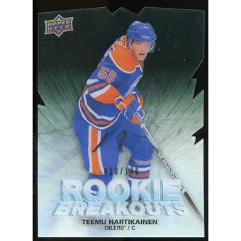 2011/12 Upper Deck Rookie Breakouts #RBTH Teemu Hartikainen /100