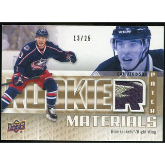 2011/12 Upper Deck Rookie Materials Patches #RMCA Cam Atkinson /25
