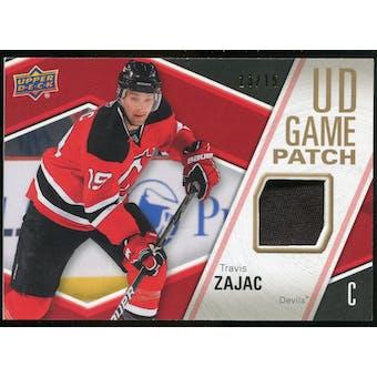 2011/12 Upper Deck Game Jerseys Patches #GJTZ Travis Zajac /15