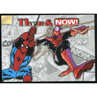 2014 Upper Deck Marvel Now Then and Now #TNLS Spider-Man