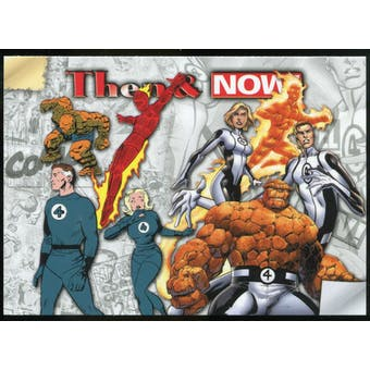 2014 Upper Deck Marvel Now Then and Now #TNLB Fantastic Four