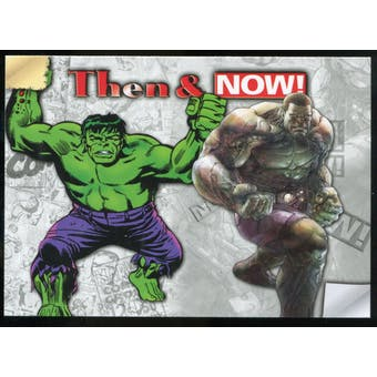 2014 Upper Deck Marvel Now Then and Now #TNLY Hulk