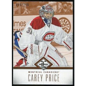 2012/13 Panini Limited #36 Carey Price /299
