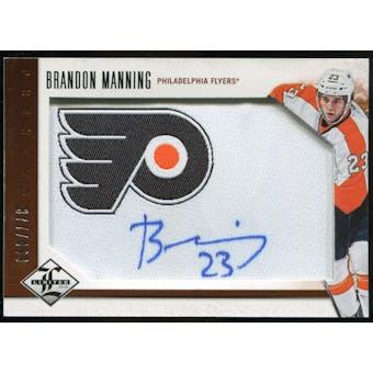 2012/13 Panini Limited #204 Brandon Manning RC Autograph /499
