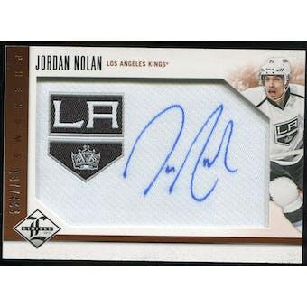 2012/13 Panini Limited #216 Jordan Nolan RC Autograph /499
