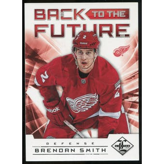 2012/13 Panini Limited Back To The Future #BTFLS Nicklas Lidstrom/Brendan Smith /199
