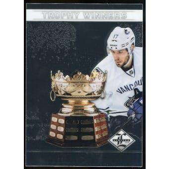 2012/13 Panini Limited Trophy Winners #TW27 Ryan Kesler /199