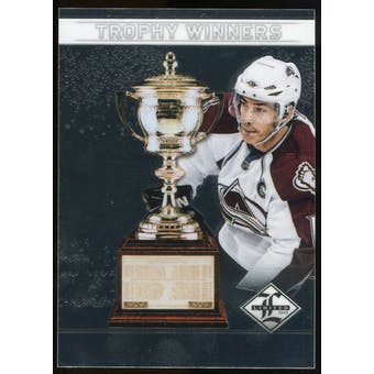 2012/13 Panini Limited Trophy Winners #TW36 Joe Sakic /199