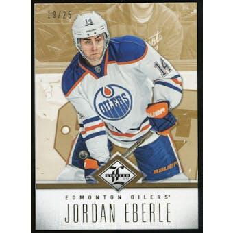 2012/13 Panini Limited Gold #26 Jordan Eberle /25