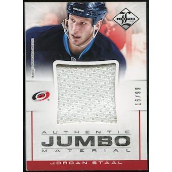 2012/13 Panini Limited Jumbo Materials #JJJS Jordan Staal /99