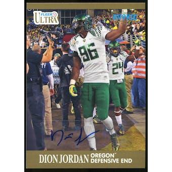 2013 Upper Deck Fleer Retro Ultra Autographs #62 Dion Jordan E Autograph
