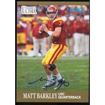 2013 Upper Deck Fleer Retro Ultra Autographs #32 Matt Barkley D Autograph