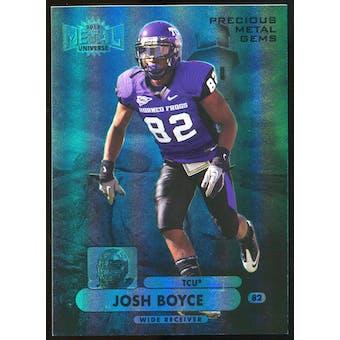 2013 Upper Deck Fleer Retro Metal Universe Precious Metal Gems Blue #M130 Josh Boyce /50