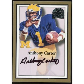 2013 Upper Deck Fleer Retro Fleer Greats of the Game Autographs #AC58 Anthony Carter B Autograph