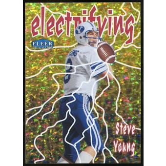 2013 Upper Deck Fleer Retro Fleer Tradition Electrifying #4 Steve Young