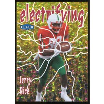 2013 Upper Deck Fleer Retro Fleer Tradition Electrifying #12 Jerry Rice