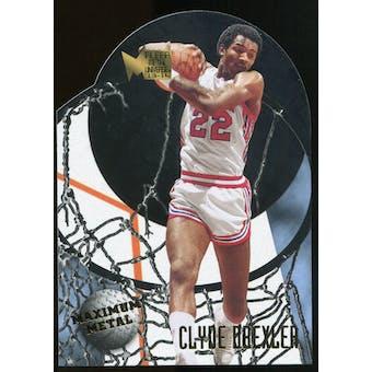 2013/14 Upper Deck Fleer Retro '95-96 Metal Universe Maximum Metal #15 Clyde Drexler