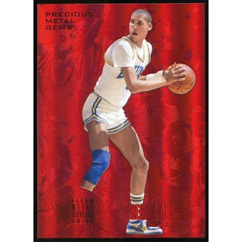 2013/14 Upper Deck Fleer Retro '95-96 Metal Universe Precious Metal Gems Red #248 Reggie Miller /150