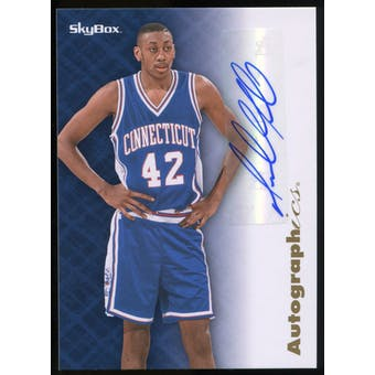 2013/14 Upper Deck Fleer Retro '96-97 SkyBox Autographics #96AUDM Donyell Marshall D Autograph