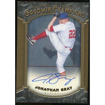 2014 Upper Deck Goodwin Champions #191 Jonathan Gray Autograph