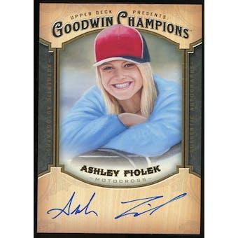 2014 Upper Deck Goodwin Champions Autographs #AAF Ashley Fiolek G Autograph