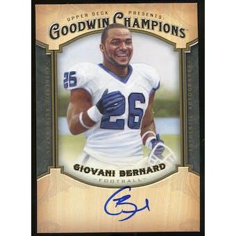 2014 Upper Deck Goodwin Champions Autographs #AGB Giovani Bernard E Autograph