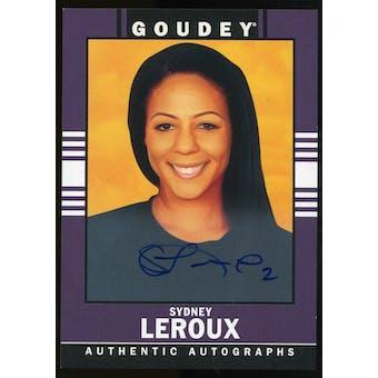 2014 Upper Deck Goodwin Champions Goudey Autographs #42 Sydney Leroux D Autograph