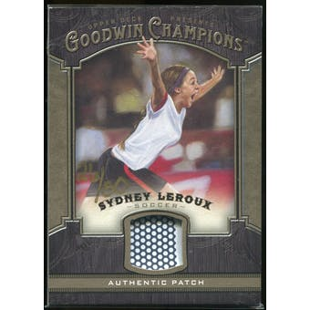 2014 Upper Deck Goodwin Champions Memorabilia Premium #MSL Sydney Leroux /50