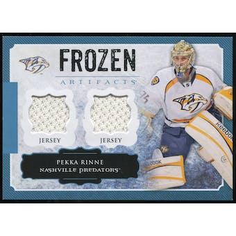 2013-14 Upper Deck Artifacts Frozen Artifacts Jerseys Blue #FAPR Pekka Rinne B
