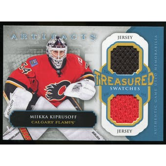 2013-14 Upper Deck Artifacts Treasured Swatches Jerseys Blue #TSMK Miikka Kiprusoff C