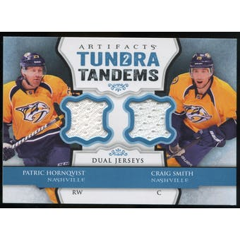 2013-14 Upper Deck Artifacts Tundra Tandems Jerseys Blue #TTHS Patric Hornqvist/Craig Smith B