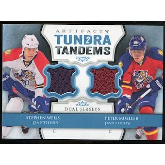 2013-14 Upper Deck Artifacts Tundra Tandems Jerseys Blue #TTWM Stephen Weiss/Peter Mueller C